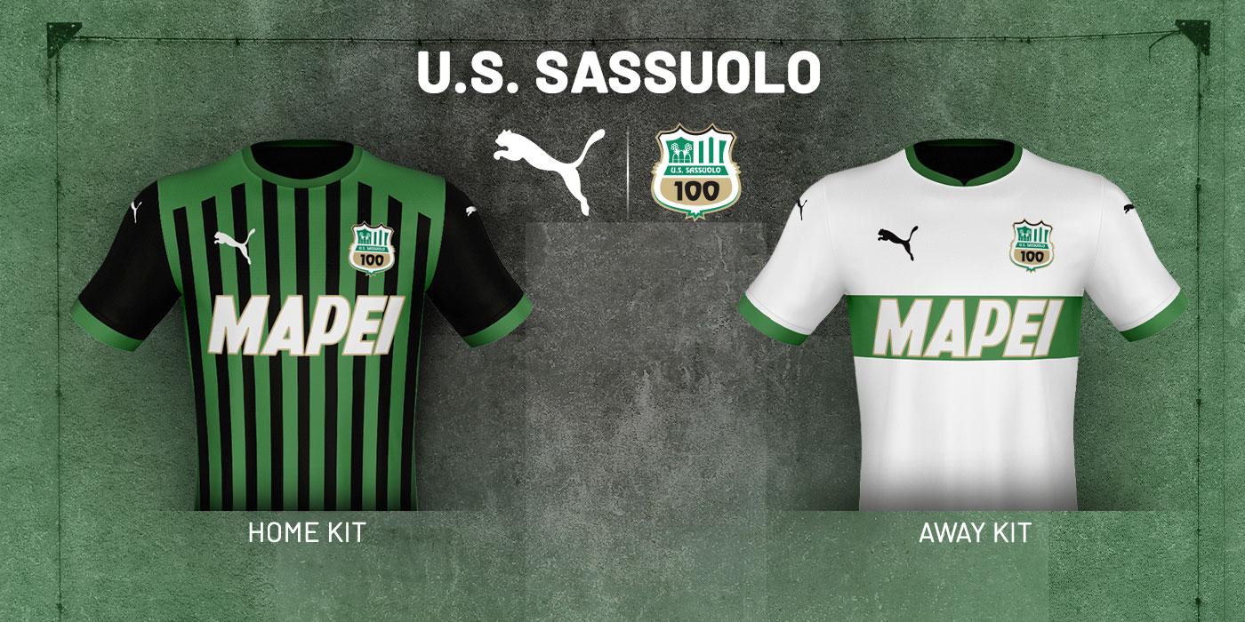 Il Sassuolo presenta le divise Puma: ecco le nuove maglie ...