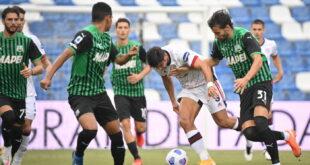 I numeri di Sassuolo-Cagliari 1-1: neroverdi arrembanti, sardi attenti in difesa