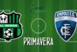 FINALE Primavera Sassuolo-Empoli 3-2: esordio vincente per Bigica