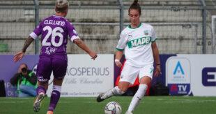 Martina Lenzini, Fiorentina-Sassuolo Femminile