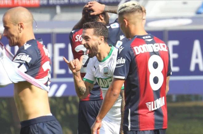 highlights bologna-sassuolo 3-4 video