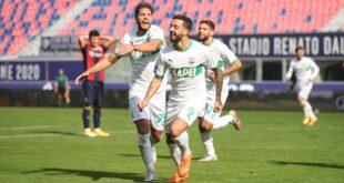 I numeri di Bologna-Sassuolo 3-4: cuore neroverde!