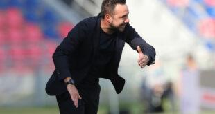 """Sassuolo-Torino, De Zerbi: """"Non dobbiamo avere l'ansia di vincere a tutti i costi, ma la voglia di farlo sì"""""""