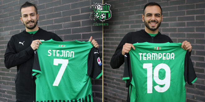 Stejinn e TeamPeda, Sassuolo eSports