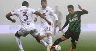 Serie A, ufficiale il rinvio del match tra Torino e Sassuolo
