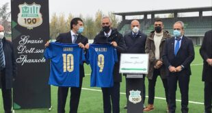 Gabriele Gravina e Marco Squinzi, Mapei Football Center
