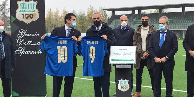 Gabriele Gravina e Marco Squinzi, Mapei Football Center