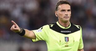Designazioni arbitrali 9^ giornata: a Irrati Sassuolo-Inter