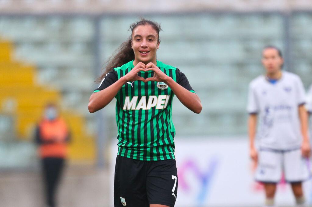 Haley Bugeja, Sassuolo-Hellas Verona Femminile 4-1