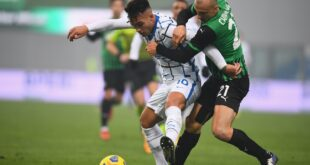 VIDEO – Gli highlights di Sassuolo-Inter 0-3