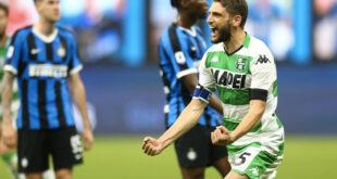 Finale Sassuolo-Inter: tris nerazzurro, al Mapei Stadium termina 0-3