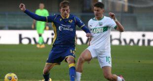 I numeri di Hellas Verona-Sassuolo 0-2: difesa neroverde più solida, primo gol stagionale per Boga