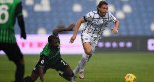 Sassuolo-Inter 0-3: opachi e poco concentrati, il carattere è rimasto a casa