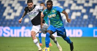 Udinese-Sassuolo in tv: dove vederla, info streaming e telecronisti