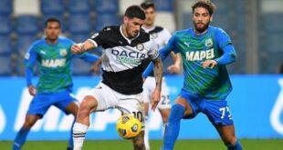Serie A, le probabili formazioni di Udinese-Sassuolo: Traorè e Obiang dall'inizio
