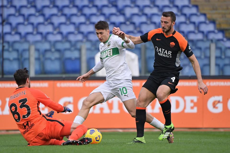 Filip Djuricic, Roma-Sassuolo 0-0