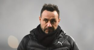 Calciomercato Sassuolo: De Zerbi è finito nel mirino dello Shakhtar Donetsk e di un club della Liga