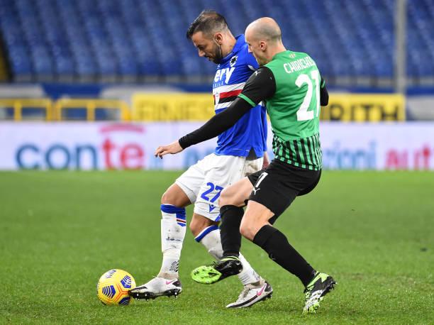 Sassuolo Sampdoria in tv