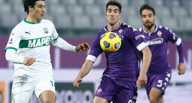 Probabili formazioni Sassuolo-Fiorentina