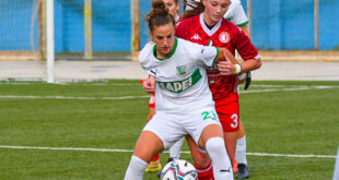 Martina Tomaselli, Pink Bari-Sassuolo 2-4 Femminile