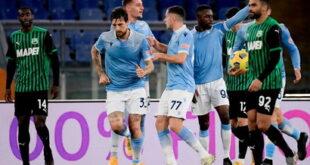 I numeri di Lazio-Sassuolo 2-1: chiudiamo l'andata all'ottavo posto