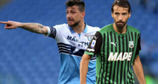 DIRETTA Lazio-Sassuolo 2-1: Immobile riporta la Lazio in vantaggio