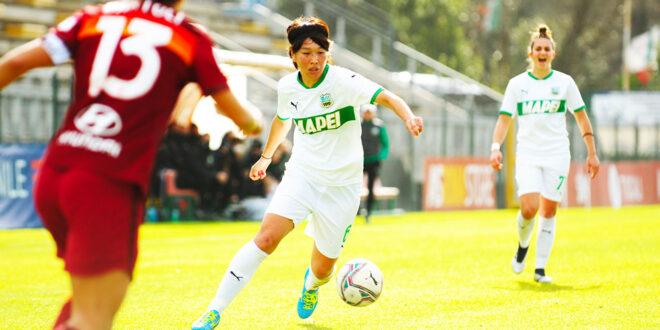 Roma padrona del campo, Sassuolo Femminile spento : 2-0 per le capitoline