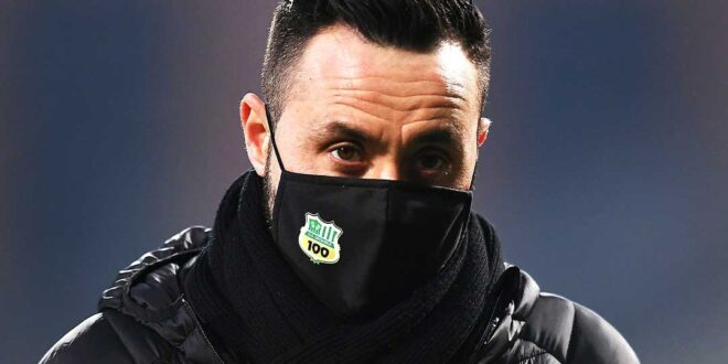 Roberto De Zerbi Inter Sassuolo