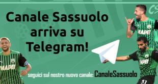 Canale Sassuolo sbarca su Telegram!