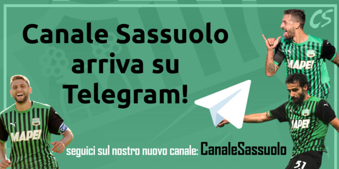 Canale Sassuolo su Telegram