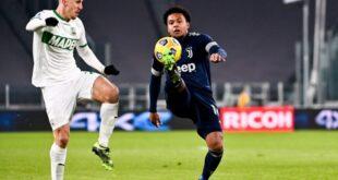 Serie A, le probabili formazioni di Sassuolo-Juventus: torna Marlon, in dubbio Boga
