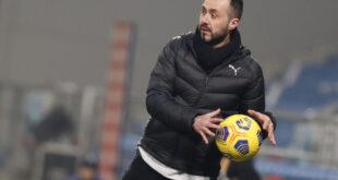 """Sassuolo-Parma, De Zerbi: """"Dobbiamo giocare senza scuse, ma per fare i 3 punti"""""""