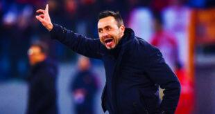 """Milan-Sassuolo, De Zerbi: """"Contro di loro non vorrei giocare, le società dei prepotenti hanno fatto un colpo di Stato nel calcio"""""""