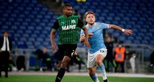 Lazio-Sassuolo 2-1: il tabellino