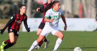 Coppa Italia: il Sassuolo Femminile esce a testa contro il Milan