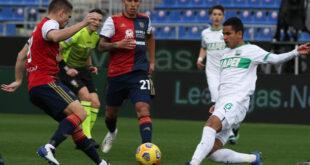 highlights cagliari-sassuolo 1-1