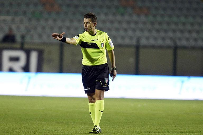 Alessandro Prontera sassuolo lazio arbitro