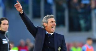 Udinese, Gotti multato per aver violato le norme anti-Covid