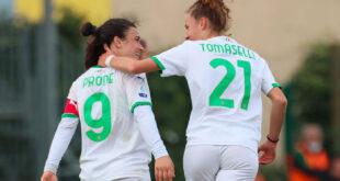 Florentia-Sassuolo, Pirone e Tomaselli