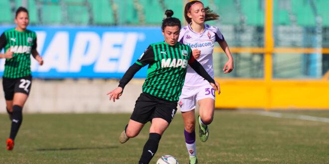 Sassuolo Femminile : arriva un'altra vittoria contro la Fiorentina Femminile