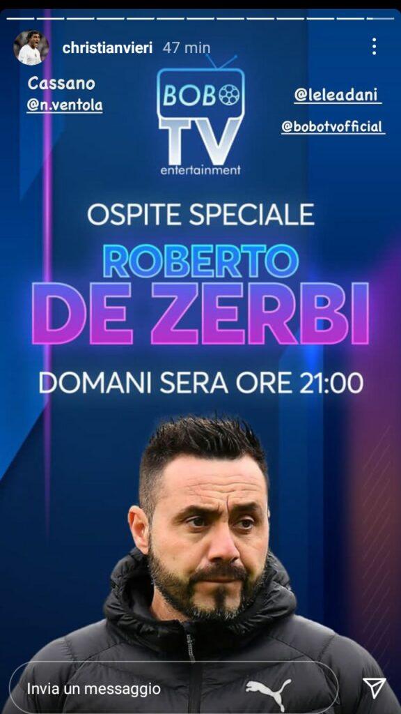 De Zerbi Bobo Tv