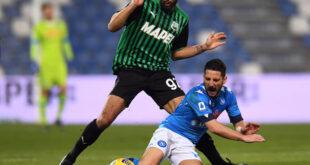 """Sassuolo-Napoli, Defrel: """"Potevamo chiuderla ma siamo soddisfatti della prestazione"""""""
