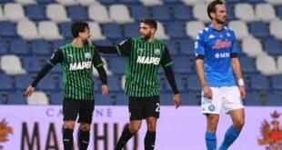 Domenico Berardi è il miglior italiano della 25^ giornata di Serie A