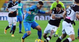 Udinese-Sassuolo 2-0: le certezze si fermano tra le due tre quarti campo