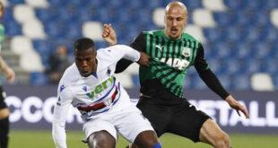 Statistiche Sassuolo Sampdoria 1-0
