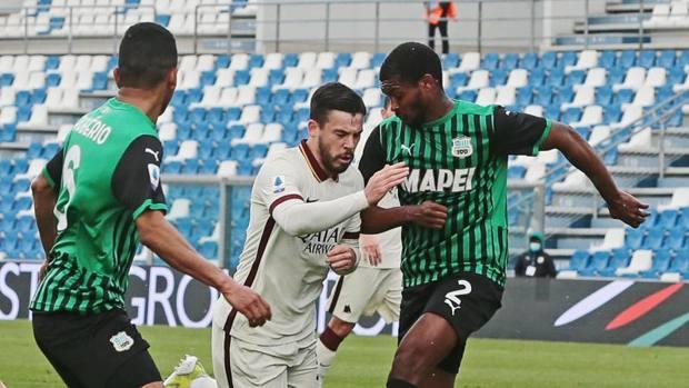 Marlon Santos, Sassuolo-Roma 2-2