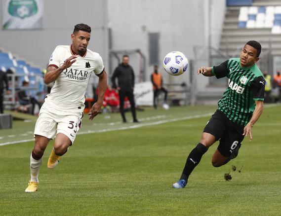 Rogorio, Sassuolo-Roma 2-2