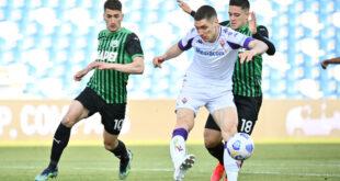 I numeri di Sassuolo-Fiorentina 3-1: due vittorie di fila, non succedeva da inizio stagione