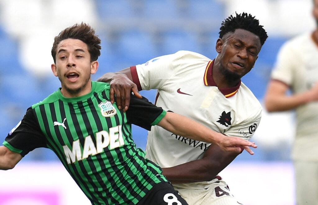 Maxime Lopez, Sassuolo-Roma 2-2