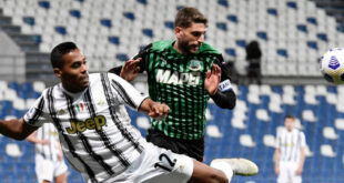 VIDEO: gli highlights di Sassuolo-Juventus 1-3